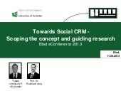 Social CRM - the academic perspective