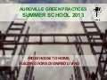 Auroville Green Practices Summer School - Presentation