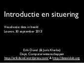 Introductie en situering - Visualis...