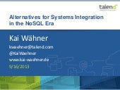 Alternatives for Systems Integratio...