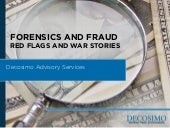 Forensics and Fraud: Red Flags and ...