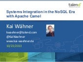 "JBoss OneDayTalk 2013: ""NoSQL Integ..."