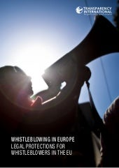 Whistleblowing in Europe: Legal Pro...
