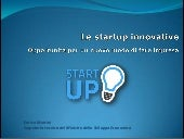 Le start-up innovative opportunita ...