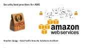 AWS 201 - A Walk through the AWS Cloud: AWS Security Best Practices