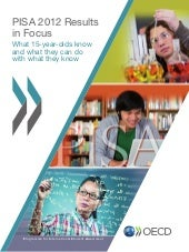 PISA Report 2012 - World