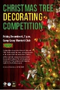 Christmas Tree Decorating Competition