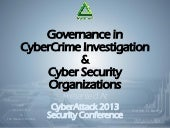 Governance in Cybercrime and Cybers...