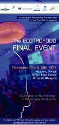 20131211 Ecotrofood Final Event