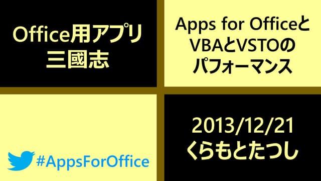 20131221_AppsforOfficeサミット_Office用アプリ三國志