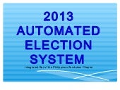 2013automatedelection