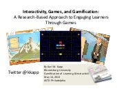 Interactivity, Games, and Gamificat...