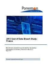2013 cost of data breach study - Fr...