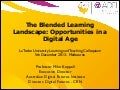 The Blended Learning Landscape