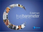 Global Deck: 2013 Edelman Trust Barometer