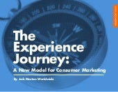 The Experience Journey:  A New Model for Consumer Marketing
