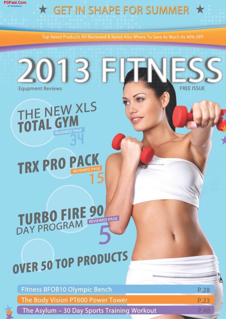 2013 fitness equipment reviews