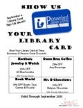 Show Us Your Library Card - Library Card Sign-Up Month 2013