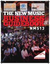 2013 New Music Business Guidebook