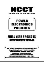 2013 ieee power electronics project...