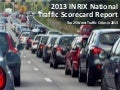 Top 25 Worst Traffic Cities in 2013 by INRIX