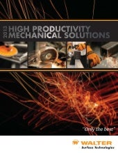 2013 Mechanical Solutions Catalog