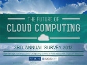 2013 Future of Cloud Computing - 3rd Annual Survey Results