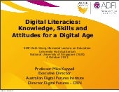 Digital Literacies: Knowledge, Skil...