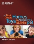 Prevue Pet Products 2013 Product Catalog
