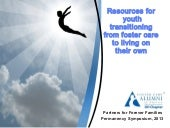 2013 resources for transitional youth
