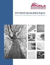 2013 RILA retail sustainability report