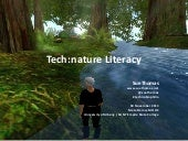Tech:Nature Literacy & Technobiophilia
