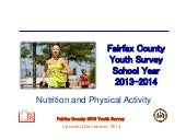 Fairfax County Youth Survey School Year 2013-2014: Nutrition and Physical Activity