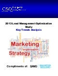 2013 Lead Management Optimization Study