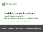Social Customer Experience @ AllFacebook Marketing Conference