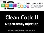 Clean Code II - Dependency Injection