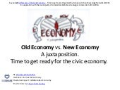 Old Economy vs. New Economy. Keynote speech at the annual EUKN EGTC Conference