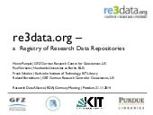 re3data.org – a Registry of Research Data Repositories