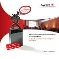 10. Ausschreibung Award Corporate Communications