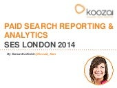 Paid Search Analytics - SES London ...