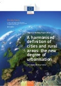 Cities and rural areas: the new degree of urbanisation (WP by EU Inforegio)