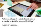 Performance Support – Arbeitsplatzi...