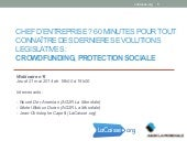 Webinaire crowdfdunding Protection ...
