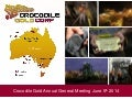 Crocodile Gold AGM Presentation from June 5, 2014