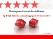Morningstar's Ultimate Stock-Pickers: Top 10 High-Conviction aandelenbeleggingen in 2de kwartaal 2014