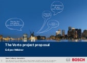 Webinar: The Vorto project proposal for Eclipse Internet of Things (IoT)