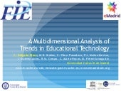 2014 10 23 (fie2014) emadrid uc3m a multidimensional analysis of trends in educational technology