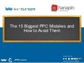The 15 Biggest PPC Mistakes & How to Avoid Them [Webinar]