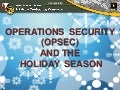 2014 ACC Holiday OPSEC Awareness