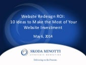 Website Redesign ROI - 10 Ideas to ...